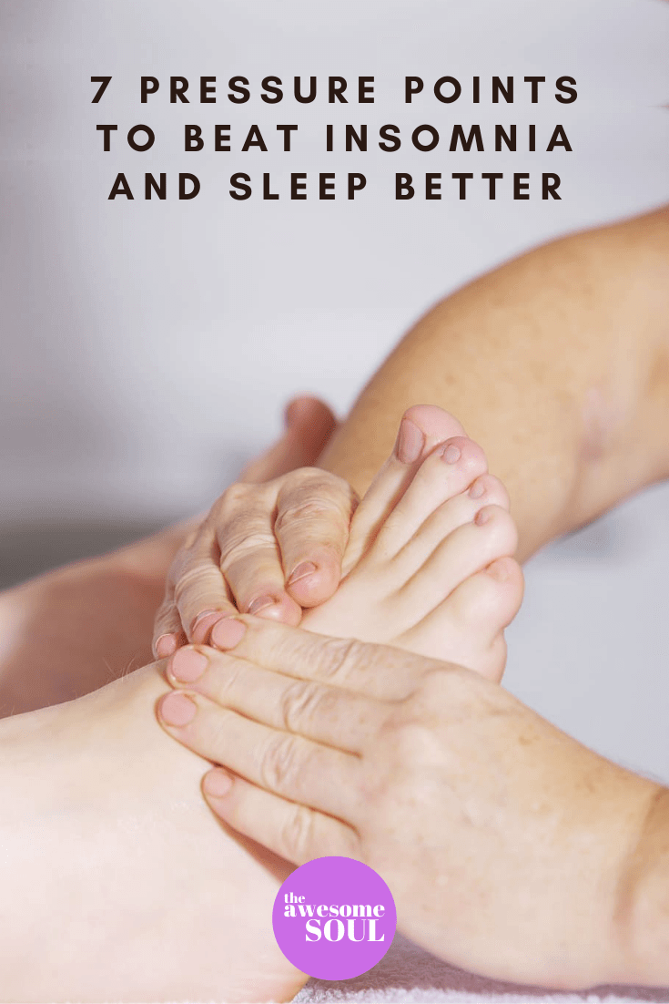 7 Pressure Points for Insomnia and Better Sleep - pin