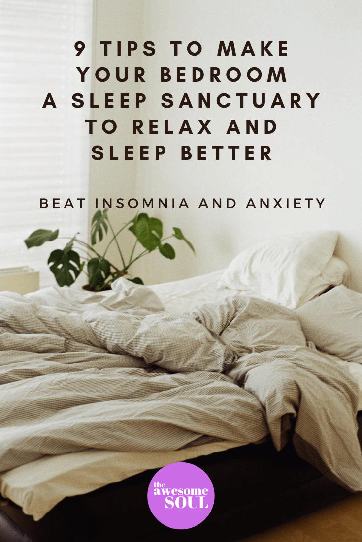 9 Bedroom Tips to Make Your Perfect Sleep Sanctuary - Pin