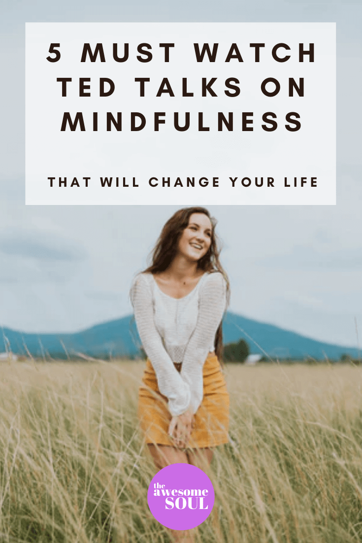 5 Must Watch TED Talks on Mindfulness - Pin