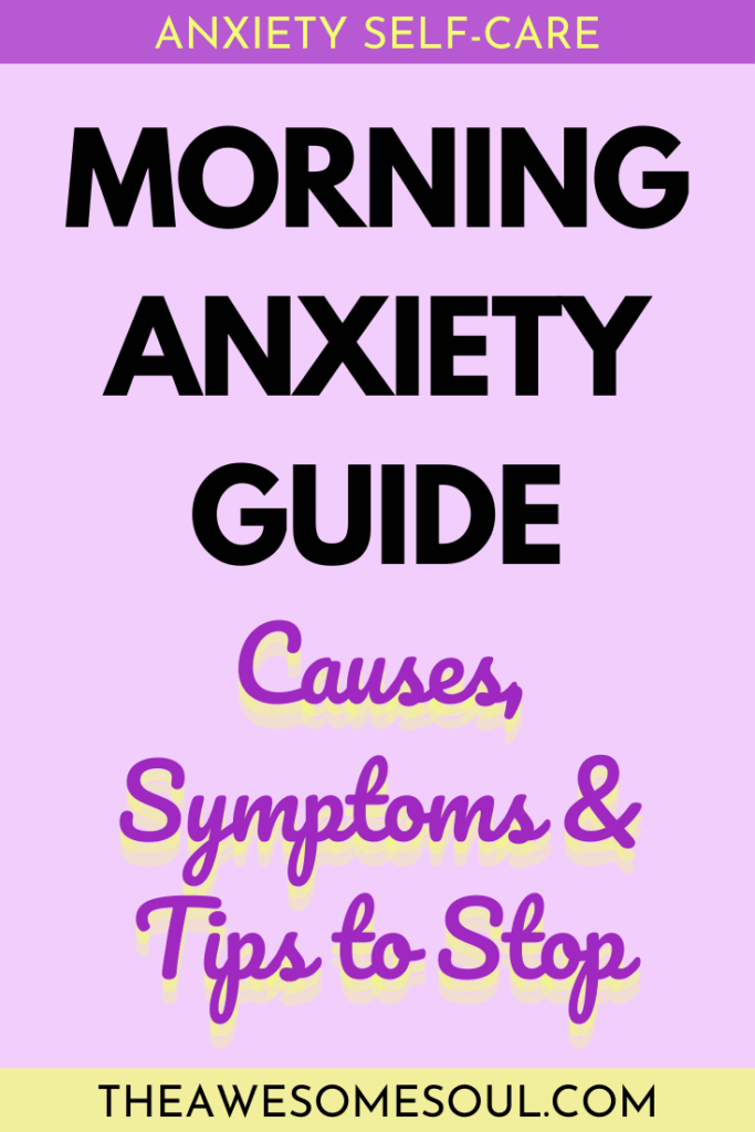 Morning Anxiety Guide: Causes, Symptoms & Tips to Stop - pin